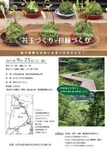 苔玉作りで良縁作り @ 山門水源の森 | 長浜市 | 滋賀県 | 日本