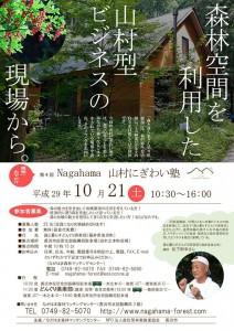 第4回Nagahama山村にぎわい塾